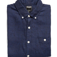 Linen Shirt in Indigo