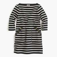 crewcuts Girls Striped Shift Dress With Zippers