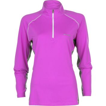 Columbia Freeze Degree III 1/2-Zip Shirt - Long-Sleeve - Women's Foxglove, XL