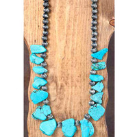 Big Rock Turquoise Necklace (PRE-ORDER)