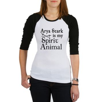 Arya Stark Spirit Animal Shirt> Arya Stark is My Spirit Animal> Scarebaby Design