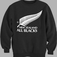 Rugby New Zealand All Blacks Sweater for Mens Sweater and Womens Sweater ***