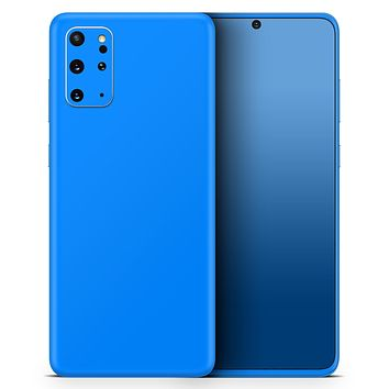 Solid Blue - Skin-Kit for the Samsung Galaxy S-Series S20, S20 Plus, S20 Ultra , S10 & others (All Galaxy Devices Available)