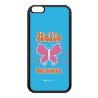 Sassy - Hello Gorgeous 10433 Black Silicon Rubber Case for iPhone 6 Plus by Sassy Slang
