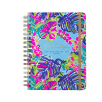 Lilly Pulitzer Large 17 Month Agenda-Exotic Garden