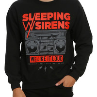 Sleeping With Sirens We Like It Loud Crew Pullover