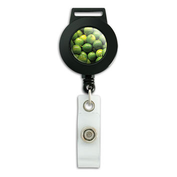 Limes Margaritas Fiesta Mexican Retractable Badge Card ID Holder