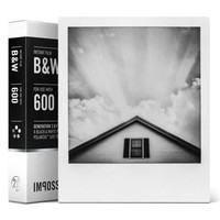 Impossible 600 B&W Film for Polaroid 600 Type Cameras & I-1
