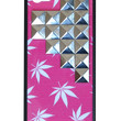 Pink Buddy Silver Pyramid iPhone 5/5s Case