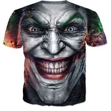 The Joker DC Comics Superhero 3D T-Shirt