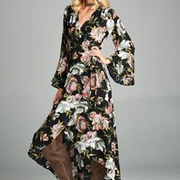 Loose Fit Wrap Dress