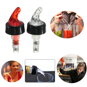 New 30mL Quick Shot Spirit Measure Measuring Pourer Drinks Wine Cocktail Dispenser Home Bar Tools New