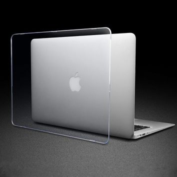 Matte Crystal Transparent Clear Case For Mac book Air Pro Retina 11 12 13 15 Touch Bar For macbook Air 13 A1932 A1989 Case