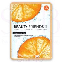 Beauty Friends II Essence Mask Sheet Pack (Vitamin)