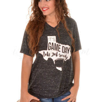Game Day Tee - Black