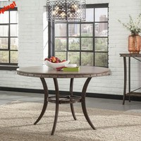 5984-emmons-round-dining-table - Free Shipping!