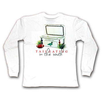 "Properly Tied ""Tailgating in the South"" LS Shirt"