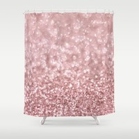 Morning Blush Shower Curtain by Lisa Argyropoulos | Society6