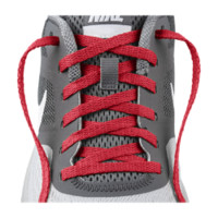 """Nike 41"""" Team Shoelaces Size 41 (Red)"""