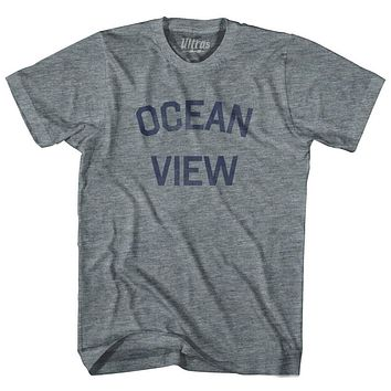 Virginia Ocean View Adult Tri-Blend Vintage T-shirt