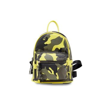 Camo Mini Backpack Purse