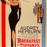 Breakfast at Tiffanys Audrey Hepburn Movie Poster 24x32