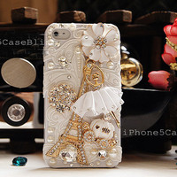 iPhone 4 Case, iPhone 4s Case,iPhone 5 Case, iPhone 5 Bling Case, Bling iPhone 4 case, Unique iPhone 4 case, Unique iphone 5 case Ballerina