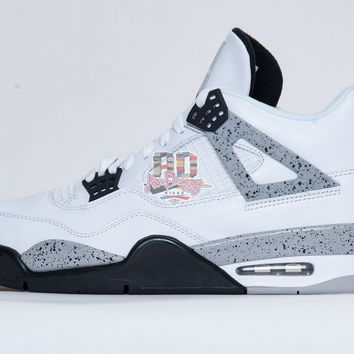 Air Jordan Retro 4 IV 'White Cement 89'