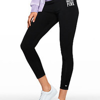 Cotton High Waist Ankle Legging - PINK - Victoria's Secret