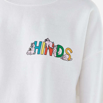Hinds Pigs Crew-Neck Sweatshirt - Urban Outfitters