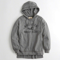 Girls Oversized Graphic Hoodie | Girls New Arrivals | HollisterCo.com
