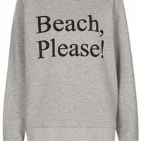 **BEACH, PLEASE! SWEAT BY ASHISH X TOPSHOP