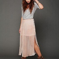FP New Romantics Oldie But A Goodie Skirt at Free People Clothing Boutique