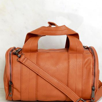 Mini Duffle Bag Camel
