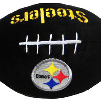 Pittsburgh Steelers Doggie Plush Football Toy
