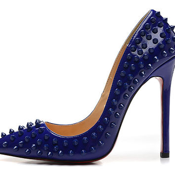 Posh Girl Studded Stiletto Pumps