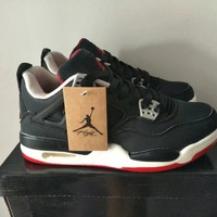 """Nike Air Jordan Ⅳ"" Women Air Cushion Sneakers Basketball Shoes Running Shoes"