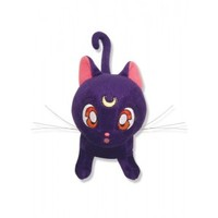 Sailor Moon Official Luna Plush GE Animation GE8952 - Estatic Arts