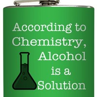 Alcohol is a Solution Flask