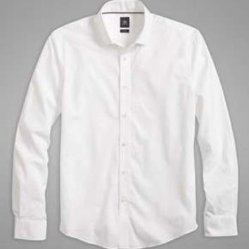 Dockers SF Poplin Shirt, Two-Ply
