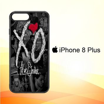 the weeknd xo WALLPAPER Y0839 iPhone 8 Plus Case