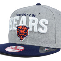 Chicago Bears NFL Property of Snap 9FIFTY Snapback Cap