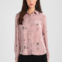 mint&berry | Astral Print Blouse