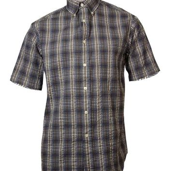 Roundtree & Yorke Men's Gingham Cotton Shirt
