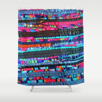 Colorful and Playfully Shower Curtain by Azima