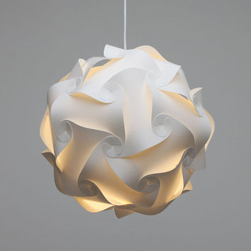 lamp shade / ceiling light / pendant / danish IQ modern minimalist design retro/deco (M/35cm)