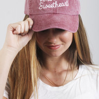 friday + saturday: america's sweetheart hat