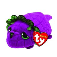 10CM Teeny Tys Ty Beanie Boos Purple Dragon Plush Stuffed Animal Collectible Doll Toys For Children Juguetes