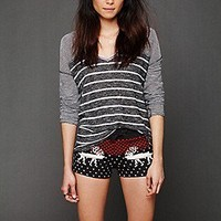 Henry Mills Free People Clothing Boutique > Fleece Printed Shorts
