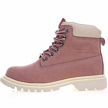 "CAT BRUISERB4C ""PINK"" OUTDOOR BOOTS"